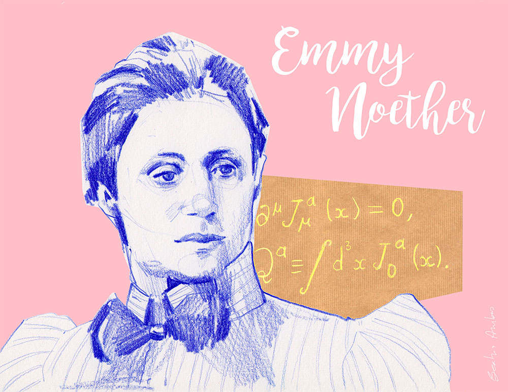 International Day of Women and Girls in Science. Emmy Noether