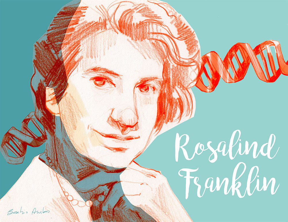 International Day of Women and Girls in Science. Rosalind Franklin